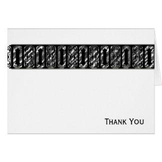 Art Deco Band Card
