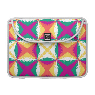 Art Deco Colorful Swirl Retro Abstract Art Sleeve For MacBook Pro