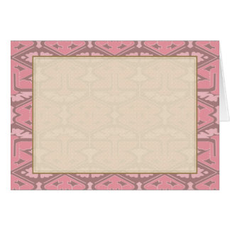 Art Deco Flair - All in Pink Card