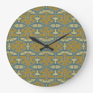 Art Deco Flair - First Variation Large Clock