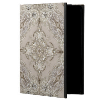 Art Deco Glamorous Great Gatsby Rhinestone Lace Cover For iPad Air