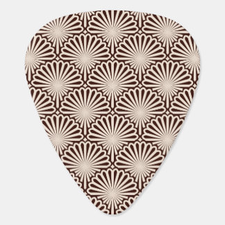 Art Deco Sea Shells Plectrum