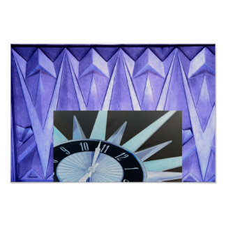 ART DECO TIME POSTER