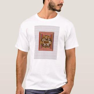 ART Decoration RAM ARIES Zodiac Symbol Astrology T-Shirt