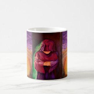 art design coffee mug In awe and in silence I stan