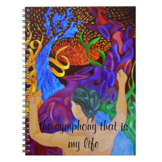 Art designer note book The symphony that is my lif