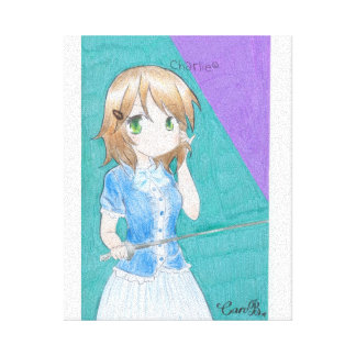 ART DRAWING CANVAS FRAME (CHARLIE)