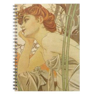 Art Nouveau Notebook