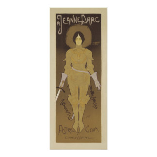 Art Nouveau Posters Joan of Arc