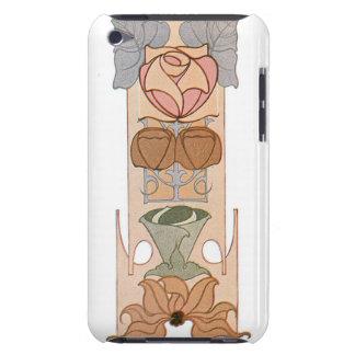 Art Nouveau Rose iPod Case iPod Case-Mate Case