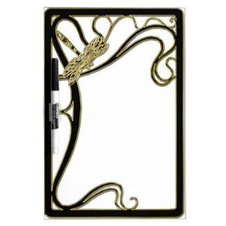 Art Nouveau White Board