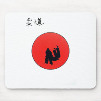 Art Of Judo Print Mouse Pad