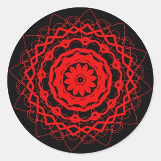 Art Round Sticker