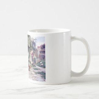 Art Student Holiday Painting Coffee Mug