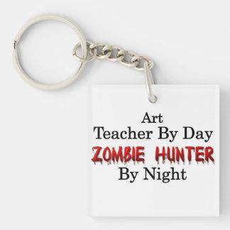 Art Teacher/Zombie Hunter Key Ring