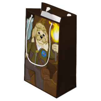 Arte Fact Goes Exploring Small Gift Bag