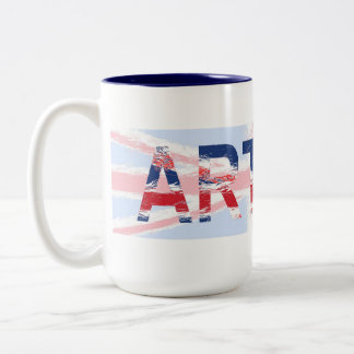 Arthur Two-Tone Coffee Mug