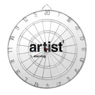 artist dart board