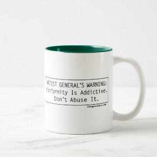 Artist General's Warning Mug