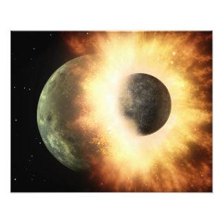 Artist s concept of a celestial body photo