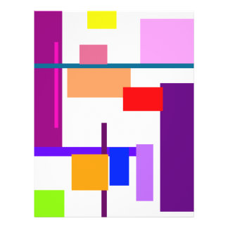 Artistic Minimal Art Flyer Design