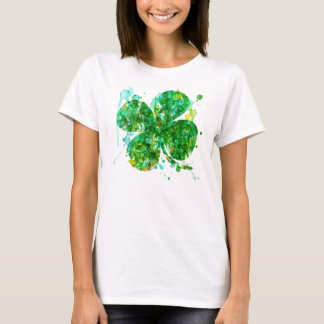 Artistic Shamrock or Women T-Shirt