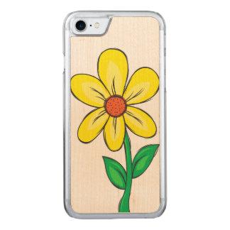 Artistic Spring Flower Carved iPhone 8/7 Case