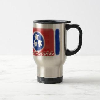 Artistic Tennessee state flag design Stainless Steel Travel Mug