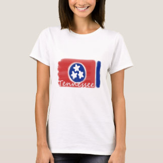Artistic Tennessee state flag design T-Shirt