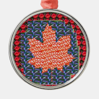 ARTISTIC vers PROUD Canadian MAPLE LEAF lowprice Christmas Ornament