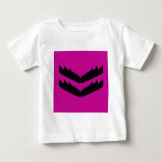 Artistic wings black purple baby T-Shirt