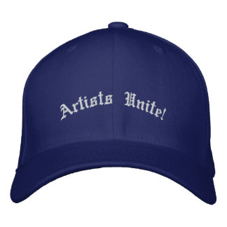 Artists Unite! Embroidered Baseball Caps