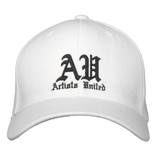 Artists United Embroidered Baseball Cap