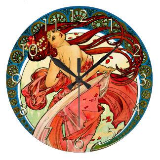 Arts Dance Large Clock