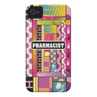 Artsy Pharmacist Gifts iPhone 4 Case