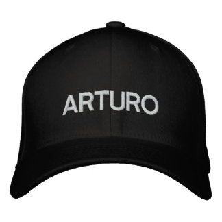 ARTURO HAT DRCHOS.COM CUSTOMIZABLE PRODUCTS EMBROIDERED BASEBALL CAP