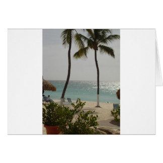Aruba Baby Beach Card