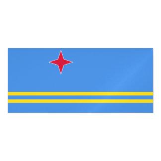 Aruba Flag Magnetic Card