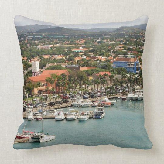 Aruba Marina Throw Pillow