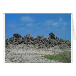 Aruba Rocks Card