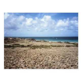 Aruba Rocky Ocean View Postcard