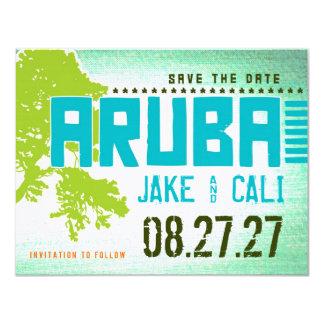 ARUBA Save the Date Card