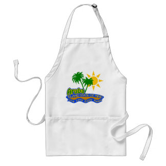 Aruba State of Mind apron - choose style & color