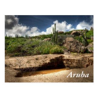 Aruba, the golden rush is over postcard
