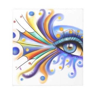Arubissina V2 - fish eye Notepads
