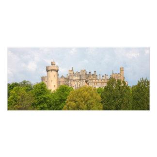 Arundel Castle custom name bookmark, business card