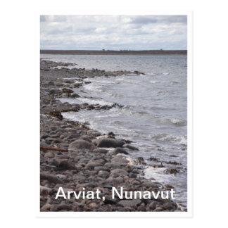 Arviat Nunavut Shoreline Postcard