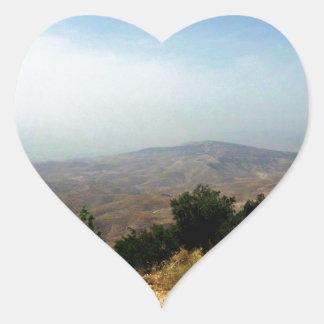 As Salt, Jordan Border Heart Sticker