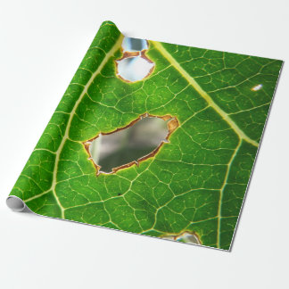 As Seen Through A Leaf Wrapping Paper