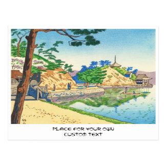 Asano Takeji, Views of Wakayama Wakanoura art Postcard